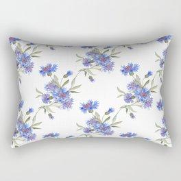Bachelor's Buttons Rectangular Pillow