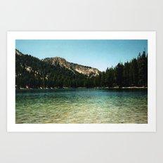 Cali Mountain (Film) Art Print