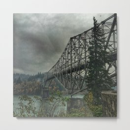 Bridge of the Gods. Metal Print