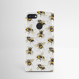 Fluffy Bumblebees (Pattern) Android Case