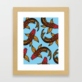 Koy Fish Framed Art Print