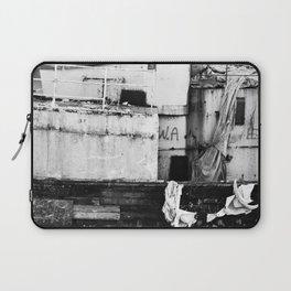 Destroyed - B/W Laptop Sleeve