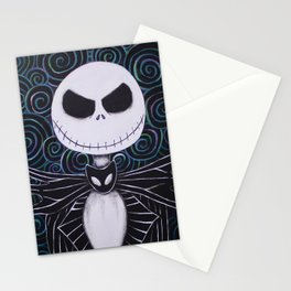Jack Skellington Stationery Cards
