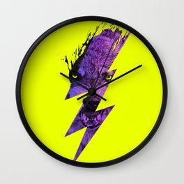 Thunderwolf Wall Clock