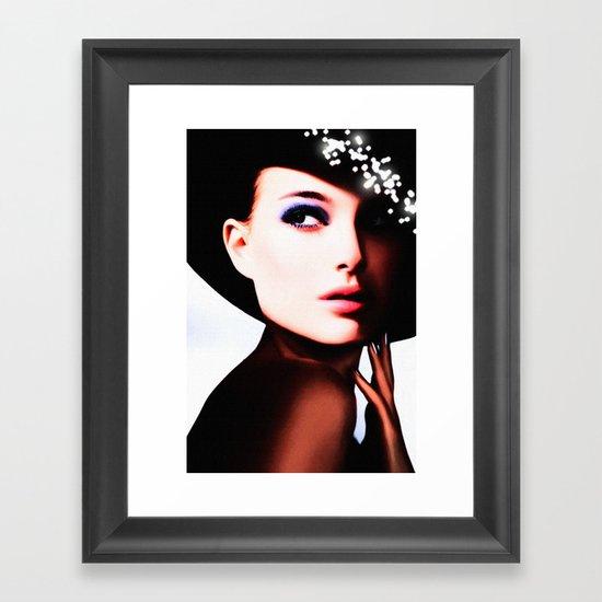 LIKE A DIVA Framed Art Print