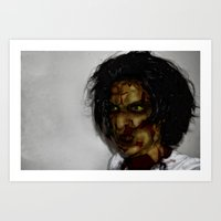 zombie Art Prints featuring Zombie!!  by Jake Stanton