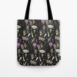 WITCH pattern • in black salt Tote Bag