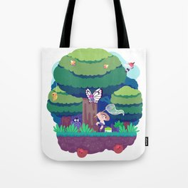 Tiny Worlds - Viridian Forest Tote Bag