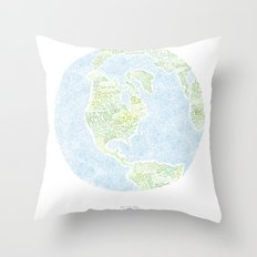 See the big picture Throw Pillow