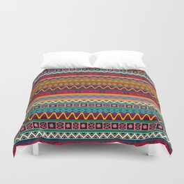 African pattern No4 Duvet Cover