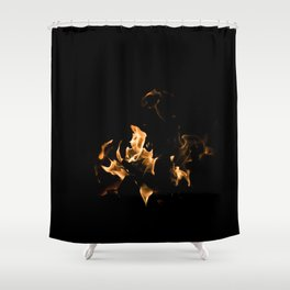 Campfire Shower Curtain