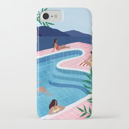 Pool ladies iPhone Case