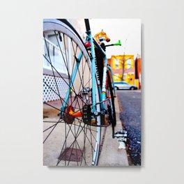 My Whip Metal Print