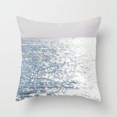 Sea reflections Throw Pillow