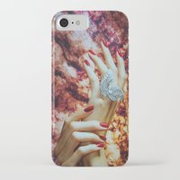 hands iPhone & iPod Cases featuring Hands by John Turck