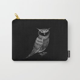 Tattooed Owl Carry-All Pouch
