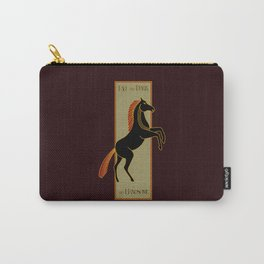 Tall and Dark and Handsome Carry-All Pouch