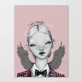 Pidgin Doll : I am Magic Canvas Print