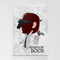reservoir dogs Stationery Cards featuring Reservoir Dogs  by edgarascensao