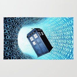 Tardis Time lord Rug