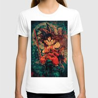 goku T-shirts featuring Kid Goku by Sirenphotos