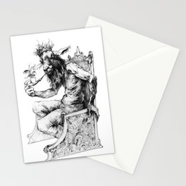 Goat King Stationery Cards