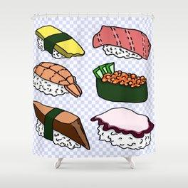 Sushi! Shower Curtain