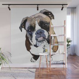 Boxer Dog Wall Mural