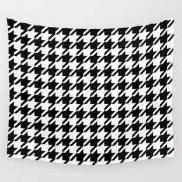 Houndstooth Large Classic Pattern Wall Tapestry