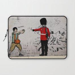 Street Art London Urban Wall Graffiti Artist Prolifik Laptop Sleeve