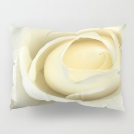 White Rose Of The Parking Structure Pillow Sham