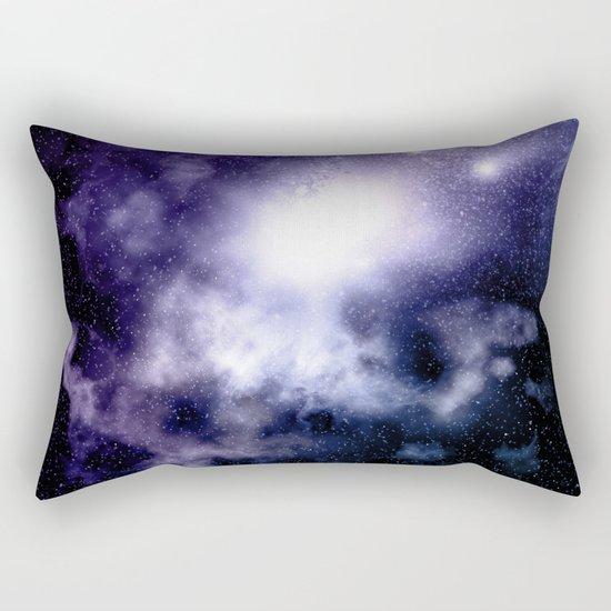 Purple Nebula Rectangular Pillow