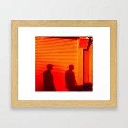 Dusk - Venice Beach Framed Art Print