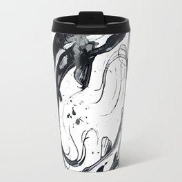 Nature Ying Yang Koi Fish Travel Mug