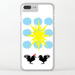 bbnyc's cock- a-doodle- doo #2 Clear iPhone Case
