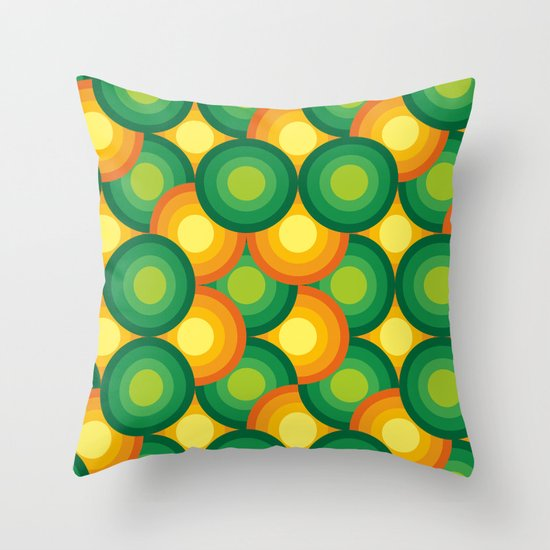 Carioca 01 Throw Pillow