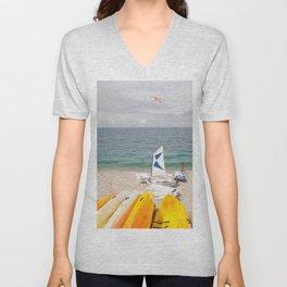 Seagull Unisex V-Neck