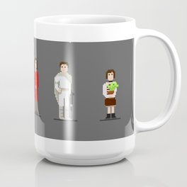 Pixel art of Natalie Portman Coffee Mug