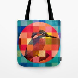 Kingfisher Sunset Tote Bag