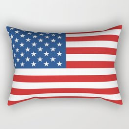 American flag Rectangular Pillow