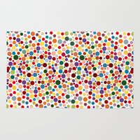 dot Area & Throw Rugs featuring Dot... by DesignsByMarly