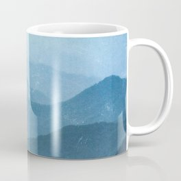 Great Smoky Mountain National Park Sunset Layers - Nature Photography Coffee Mug
