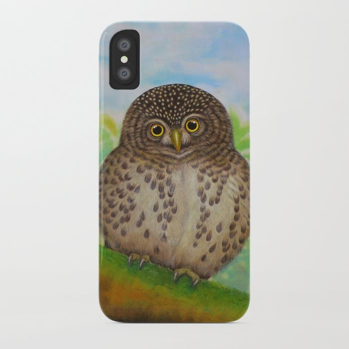 Collared Owlet iPhone Case