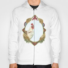 Quilted Forest // Charles the Chicken Hoody