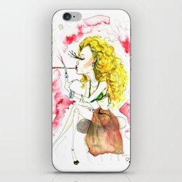 Leo Queen iPhone Skin