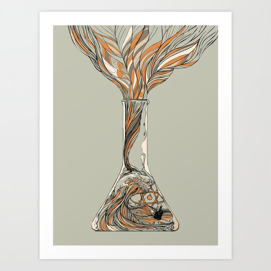 Science & Wonder Art Print