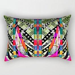 fire pattern Rectangular Pillow
