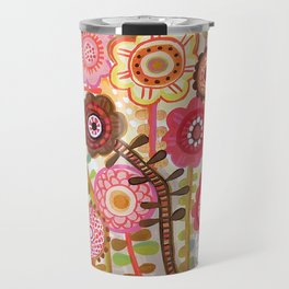 Field of flowers Travel Mug