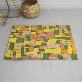 "Paul Klee ""Landhaus (Country house)"" Rug"
