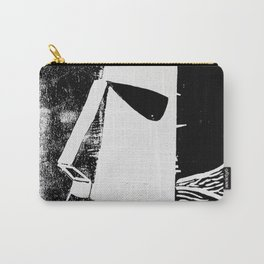 Photo White - Abstract Surrealism Print Carry-All Pouch